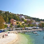 Strand-Rabac in Istrien