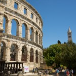 ARENA - Amphitheater in Pula - Istrien