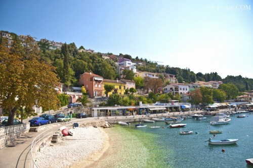 Foto - Strand-Rabac in Istrien