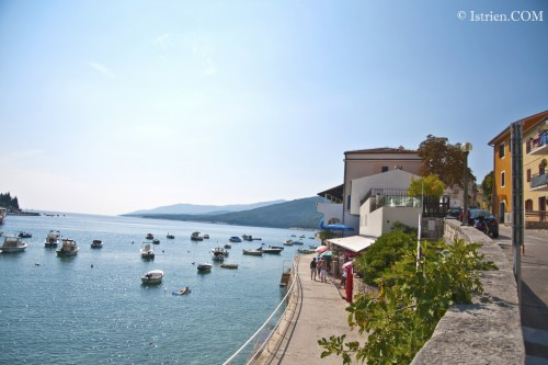 Uferpromenade in Rabac - Istrien