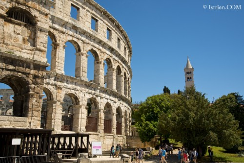 Die ARENA - Amphitheater in Pula - Istrien